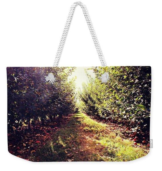 Apple Orchard Weekender Tote Bag