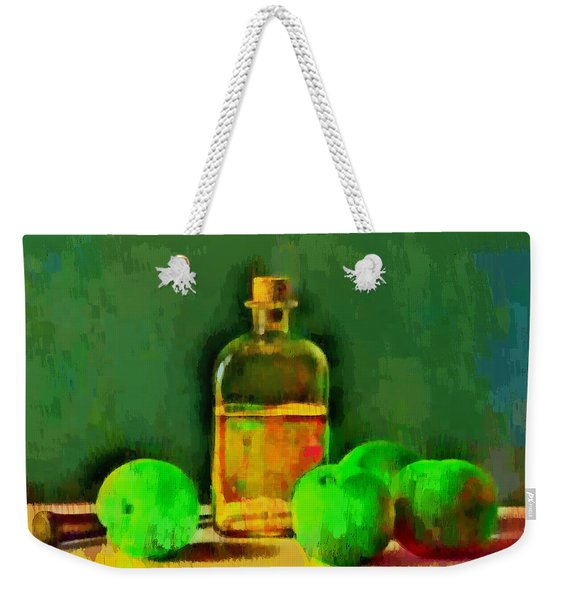 Apples And Oil - Da Weekender Tote Bag