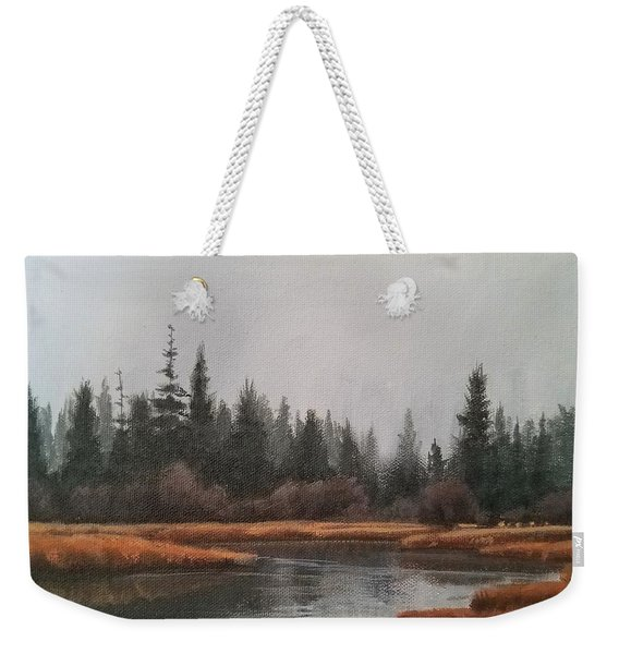 Approaching Flurries Weekender Tote Bag