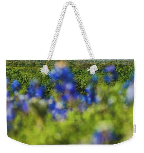 April In Dallas Weekender Tote Bag