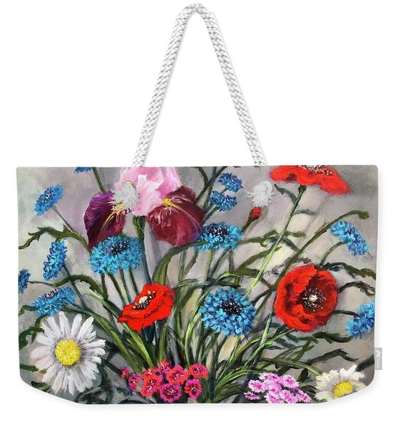 April, May, June Weekender Tote Bag