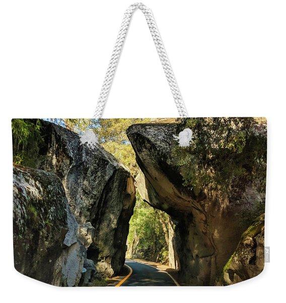 Arch Rock Entrance Weekender Tote Bag
