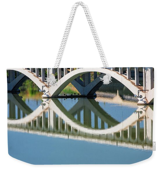 Arches Reflected Weekender Tote Bag