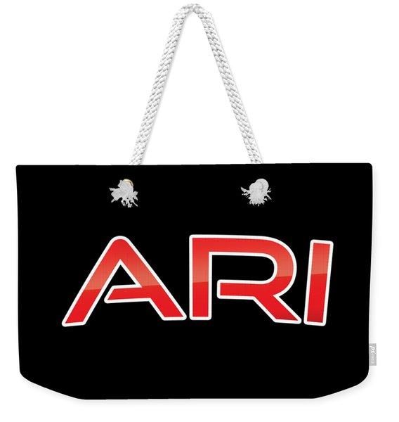 Ari Weekender Tote Bag