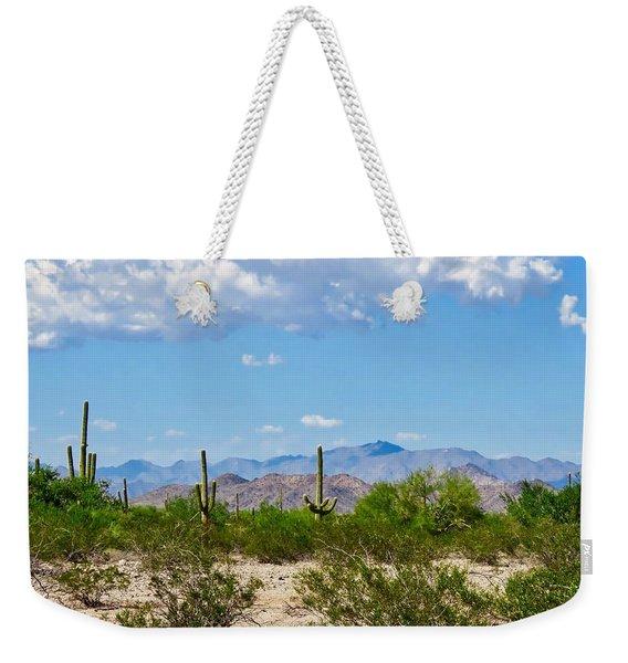Arizona Desert Hidden Valley Weekender Tote Bag