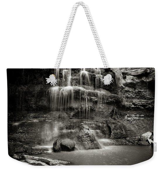 Rock Glen Falls Weekender Tote Bag