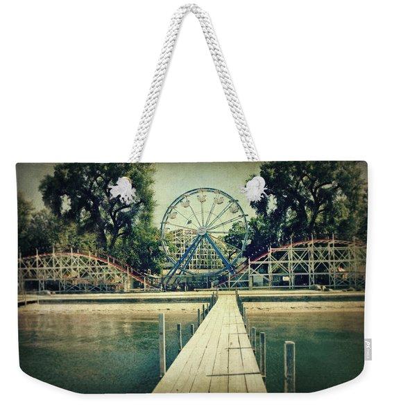 Arnolds Park Weekender Tote Bag