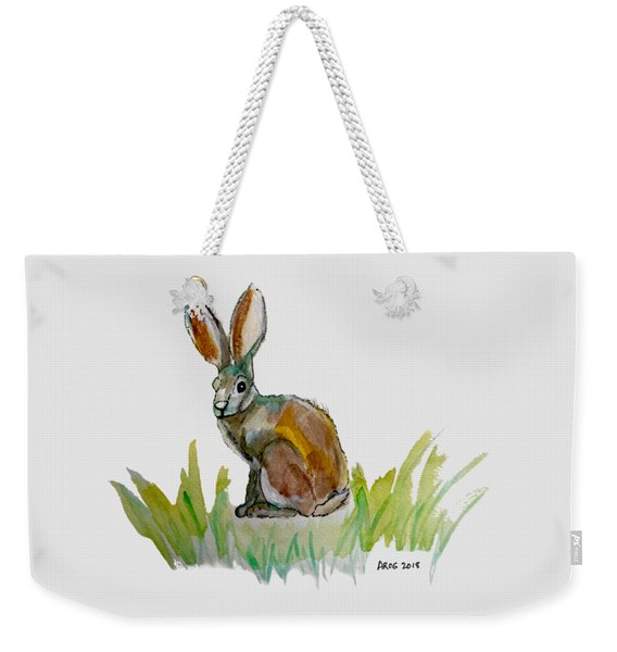 Arogs Rabbit Weekender Tote Bag