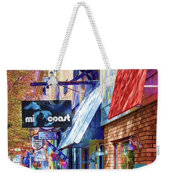 Art Coast Of Michigan Weekender Tote Bag
