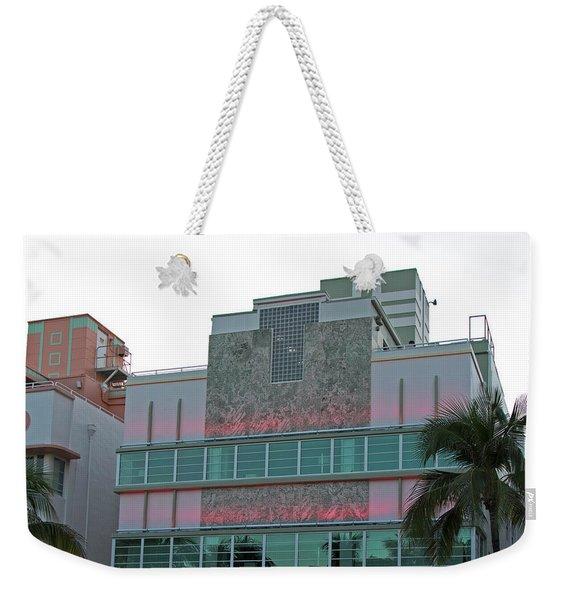 Art Deco - South Beach - Miami Beach Weekender Tote Bag