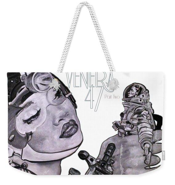 arteMECHANIX 1902 VENERA47 Pt.2 GRUNGE Weekender Tote Bag