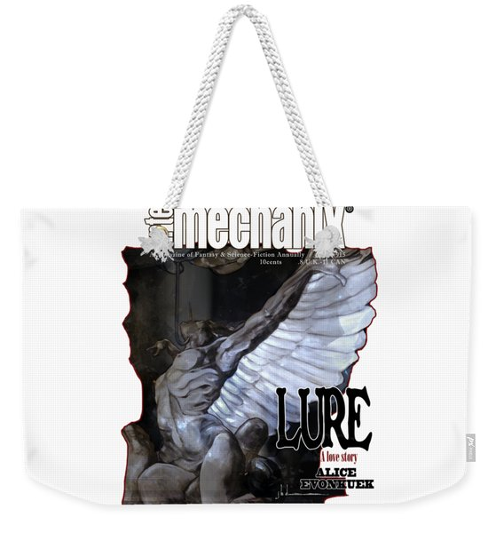 arteMECHANIX 1915 LURE GRUNGE Weekender Tote Bag