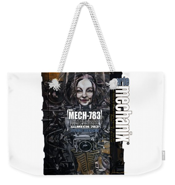 arteMECHANIX 1917 BioMECH-783 GRUNGE Weekender Tote Bag