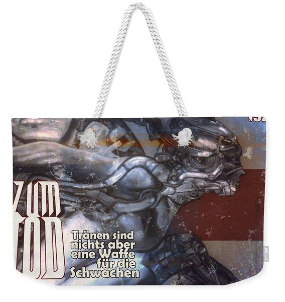 arteMECHANIX 1921 ARENA  GRUNGE Weekender Tote Bag