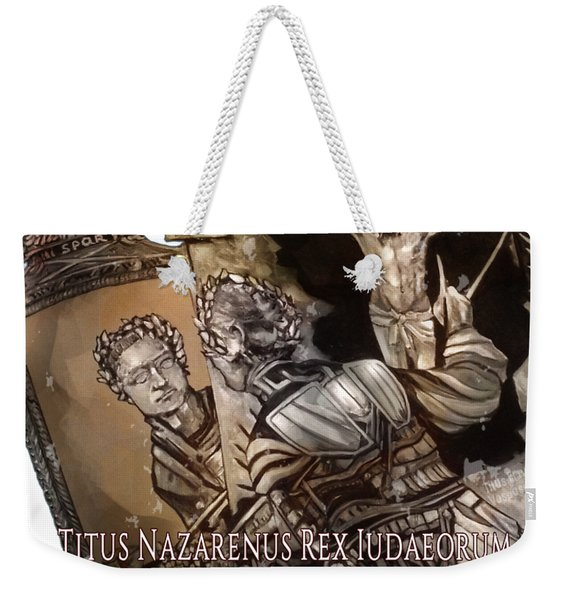 arteMECHANIX 1928 TITUS OF NAZARETH GRUNGE Weekender Tote Bag