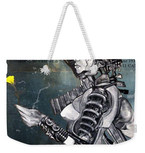arteMECHANIX 1930 The FROZEN YARD GRUNGE Weekender Tote Bag