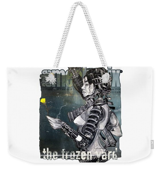 arteMECHANIX 1930 The FROZEN YARD GRUNGE Weekender Tote Bag