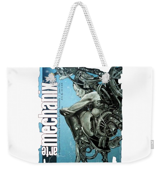 arteMECHANIX 1931 REVERIE  GRUNGE Weekender Tote Bag