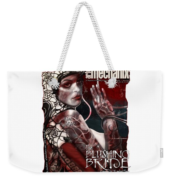 arteMECHANIX 1933 The BLUSHING BRIDE GRUNGE Weekender Tote Bag