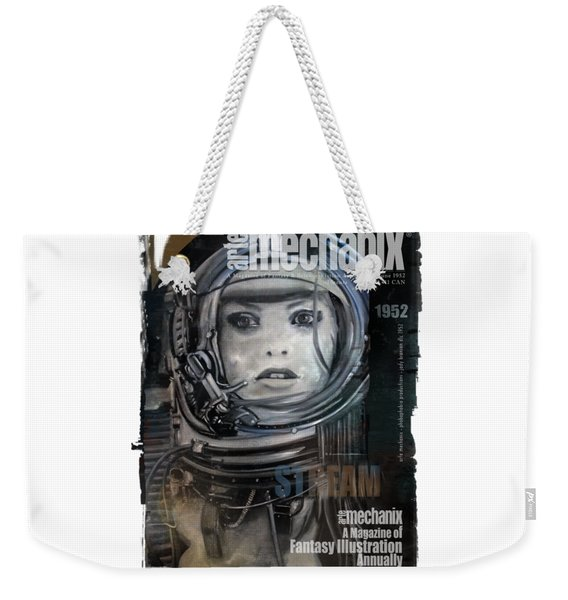 arteMECHANIX 1952 STREAM  GRUNGE Weekender Tote Bag