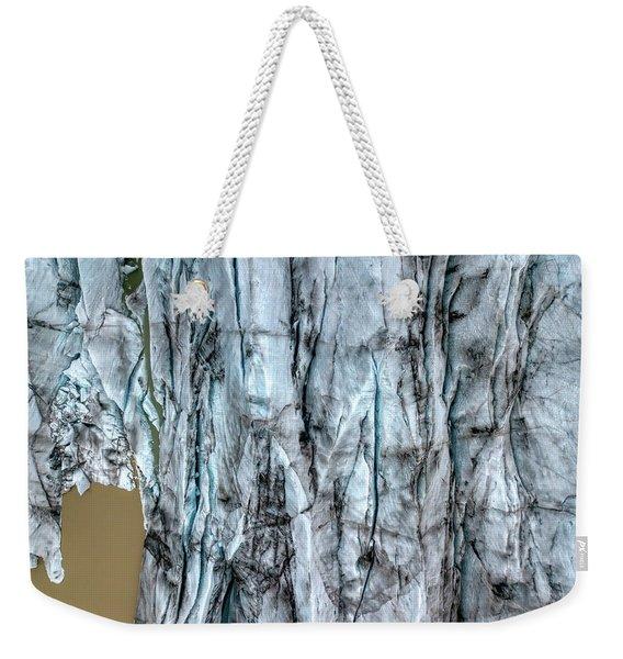 Artic Glacier Weekender Tote Bag