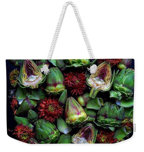 Artichoke Art Weekender Tote Bag