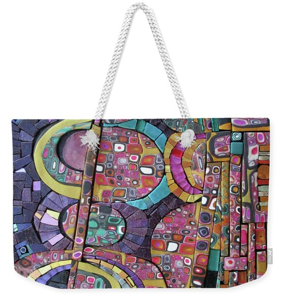 Some Lines Around Some Thoughts About You Weekender Tote Bag