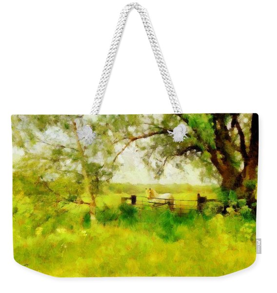 The Paddock Weekender Tote Bag
