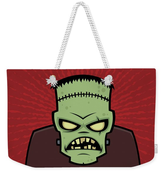 Frankenstein Monster Weekender Tote Bag
