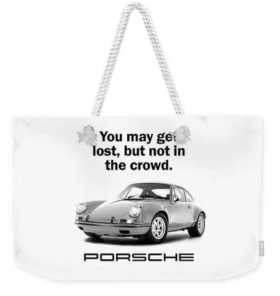 Lost In A Porsche Weekender Tote Bag