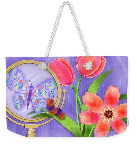 Reflection Of A Promise Weekender Tote Bag
