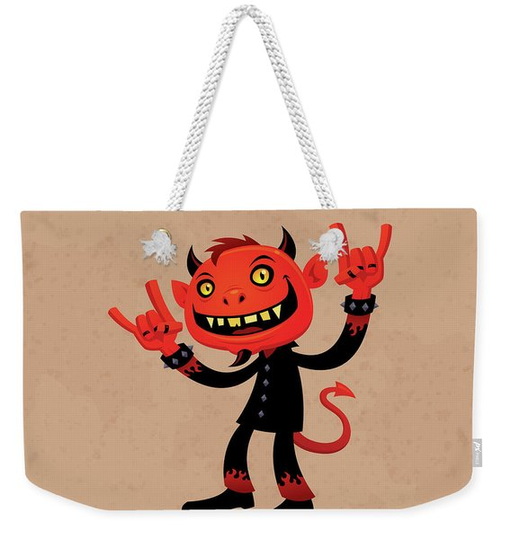 Heavy Metal Devil Weekender Tote Bag