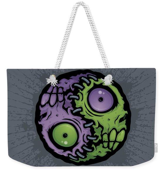 Zombie Yin-yang Weekender Tote Bag