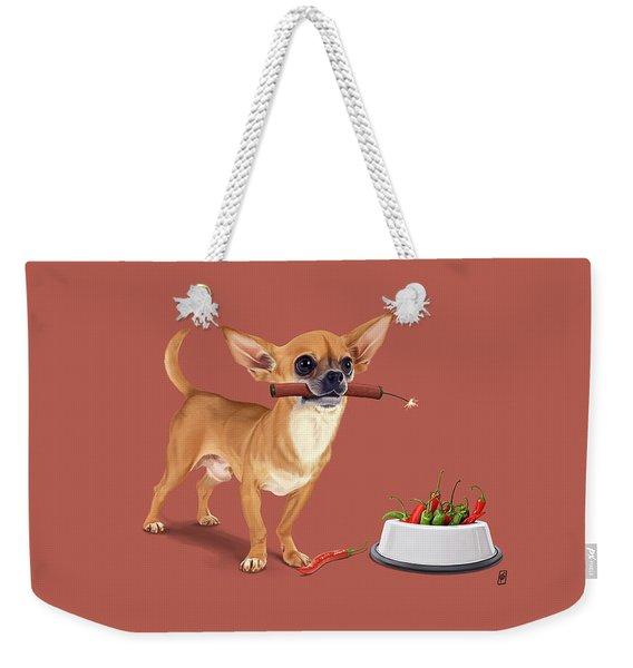 Spicy Weekender Tote Bag
