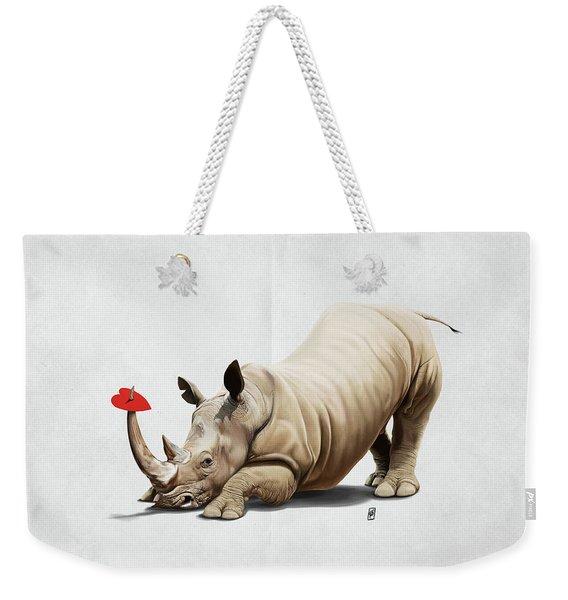 Horny Wordless Weekender Tote Bag