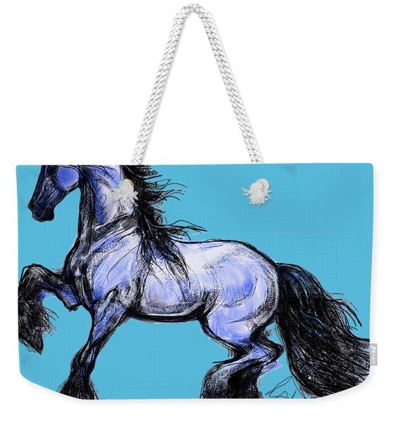 Friesian Mare Weekender Tote Bag