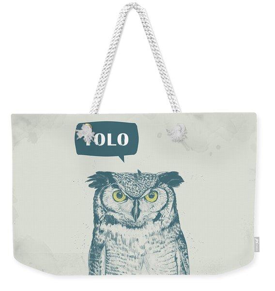 Yolo Weekender Tote Bag