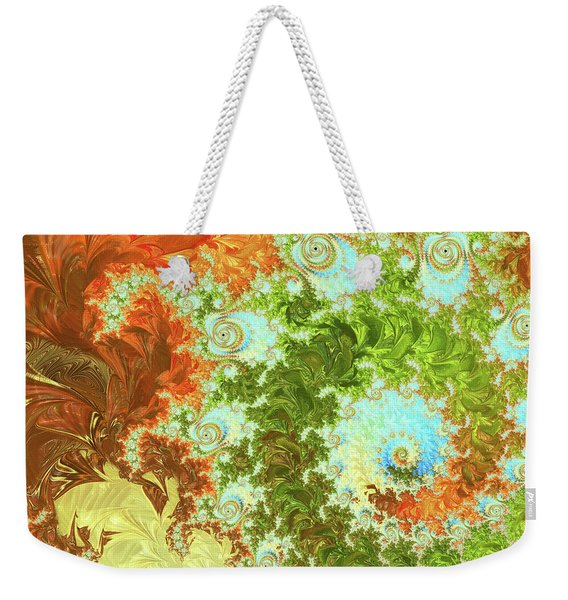 Forest And Sky Weekender Tote Bag