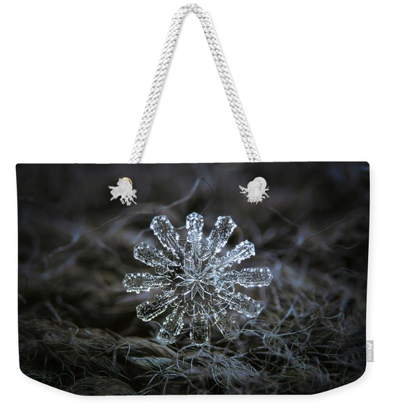 December 18 2015 - Snowflake 3 Weekender Tote Bag