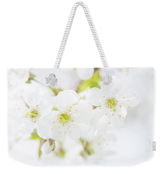 Ethereal Blossoms Weekender Tote Bag