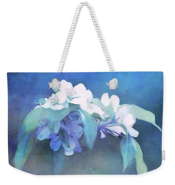 Painted Crabapple Blossoms Weekender Tote Bag