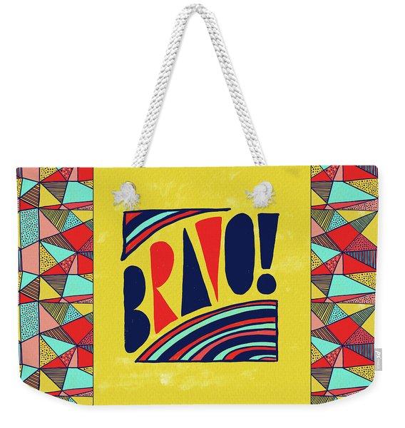 Bravo Weekender Tote Bag