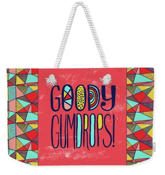 Goody Gumdrops Weekender Tote Bag