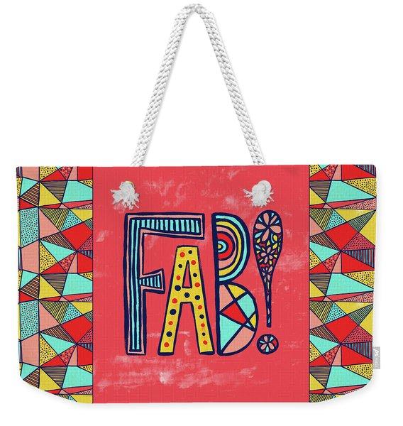 Fab Weekender Tote Bag
