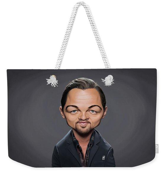 Celebrity Sunday - Leonardo Dicaprio Weekender Tote Bag