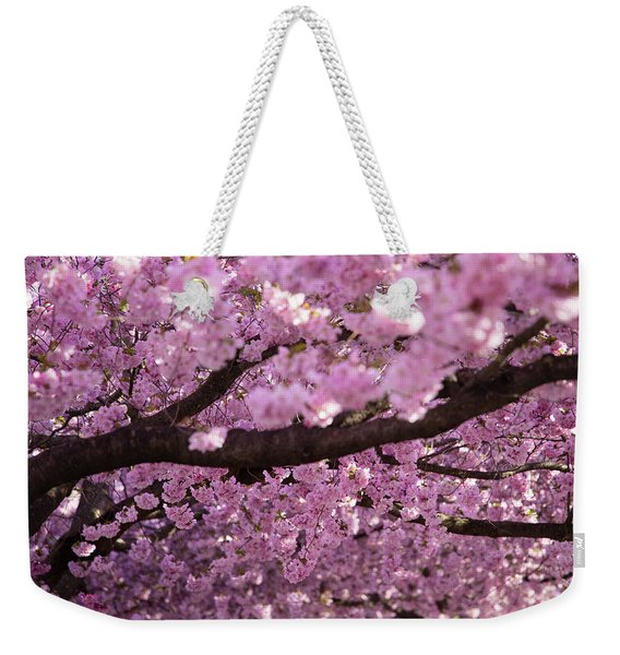 Cherry Blossom Tree Panorama Weekender Tote Bag