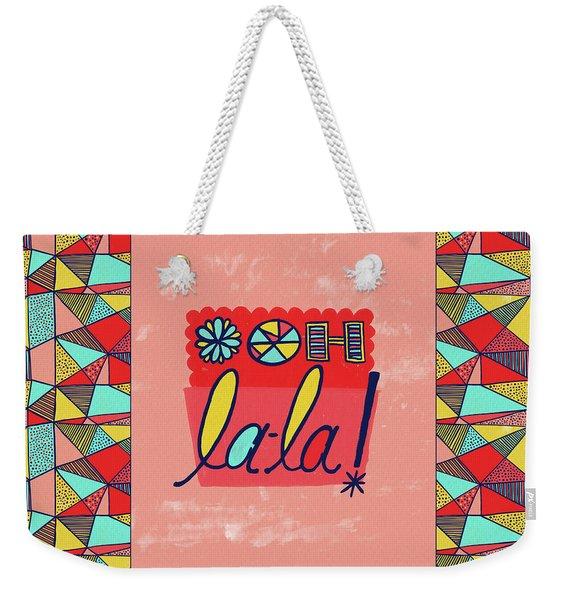 Ooh La-la Weekender Tote Bag