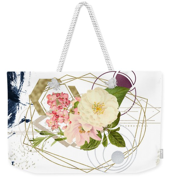 Weekender Tote Bag featuring the digital art Abstract Dream by Bee-Bee Deigner