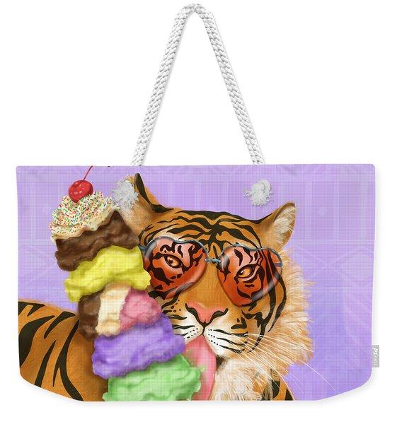 Party Safari Tiger Weekender Tote Bag