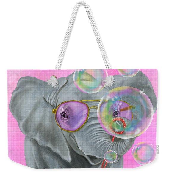 Party Safari Elephant Weekender Tote Bag